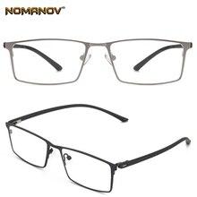 Business Fashion Full-rim Ultralight Alloy Frame Custom Made Prescription Glasses Photochromic Grey/ Brown Myopia Near-sighted
