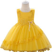 Girl Wedding Dress Lace Princess Party Beauty Prom Little Baby Birthday
