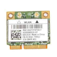 Broadcom BCM4322 Беспроводной 802.11a/b/g/n Dual band Mini Pci-e WiFi WLAN карта DW1530 для Dell E6420 E5510 acer Asus Dell Toshiba(China)