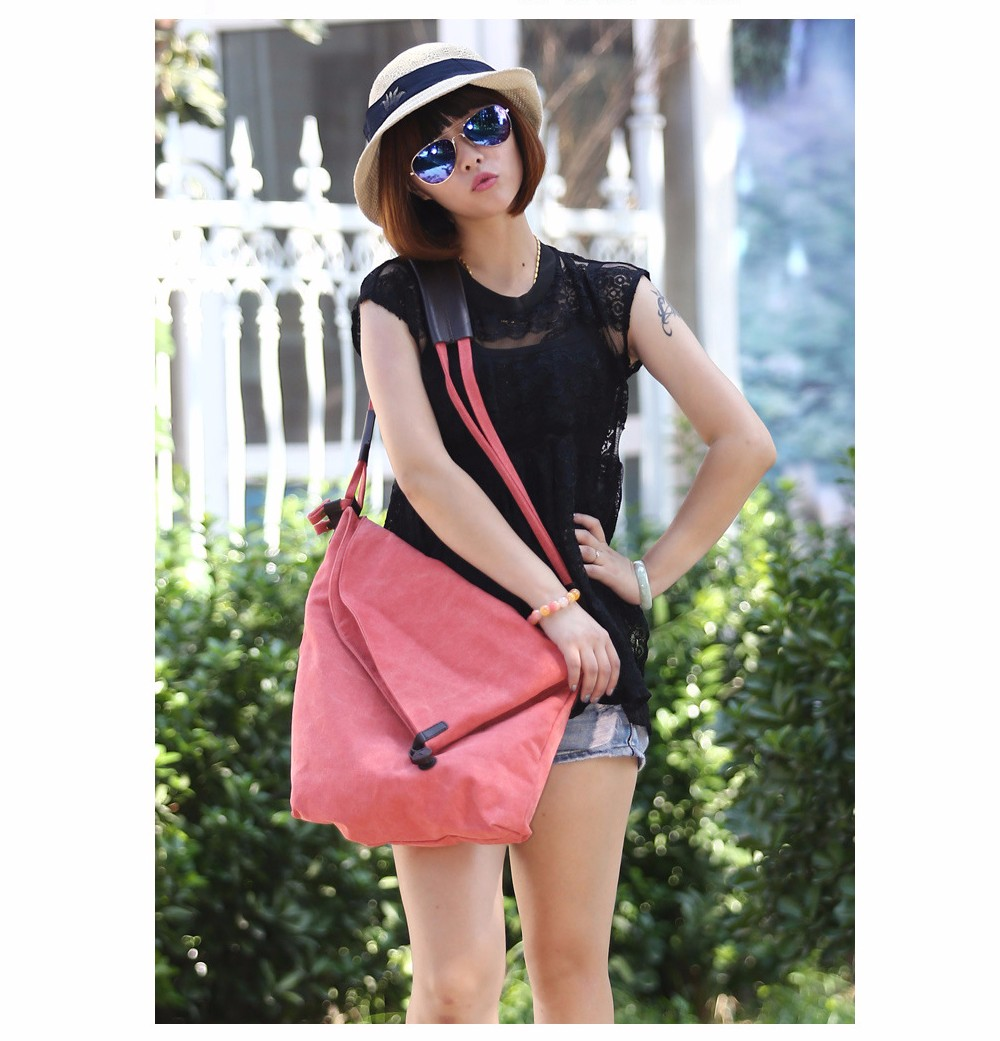 Vintage Canvas Shoulder Bag European And American Style Casual Unisex Handbag Men Women Retro Large Capacity Messenger Bags TTOU (6)