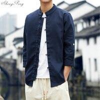 Традиционная китайская одежда восточные мужская одежда tangsuit Китайская традиционная рубашка традиционная китайская одежда для мужчин Q036