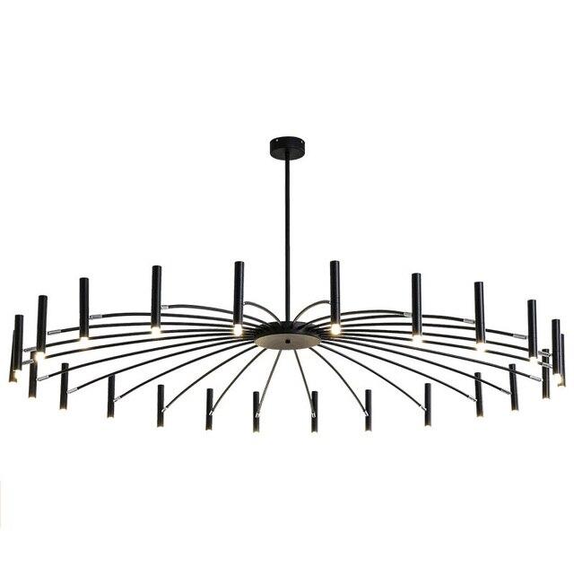 Post modern Foyer Creative Chandelier light LED Dinging room Lighting fixture Brief Designer Bedroom  12/24 lamp G9 Droplight