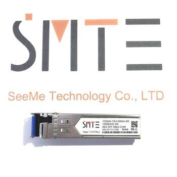 Compatible with Juniper Networks SFP-GE80KT15R14 1000BASE-BX BiDi SFP TX1550nm/RX1490nm 80km DDM Transceiver module SFP