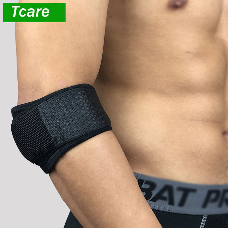 1Pcs Tennis Elbow Brace for Tendonitis - with Compression Pad Best Tennis & Golfer's Elbow Strap Band - Relieves Forearm Pain