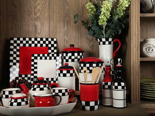 italiano barroco estilo negro y negro blanco rojo caf juegos de t decoracin decorado