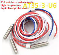 AT35 3 U6 Induction Control Line 316 Stainless Steel Electrode High Temperature Liquid Level Probe Sensor