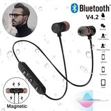 Супер басовый Bluetooth наушники беспроводные фитнес наушники с микрофоном стереонаушники с микрофоном Музыка наушники-вкладыши для телефона