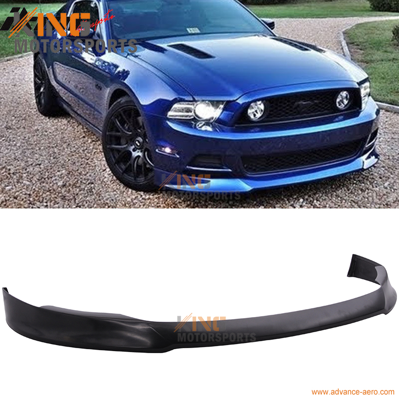 2013 Mustang Front Bumper >> Us 127 29 For 2013 2014 Mustang V6 V8 Type S Front Bumper Lip Spoiler Polyurethane Pu In Bumpers From Automobiles Motorcycles On Aliexpress Com