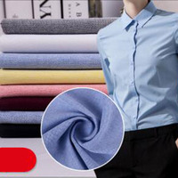 New Arrival Solid Color Oxford Cloth Fabric 100 Cotton Upscale Clothing Material DIY Handmade Sewing Width145cm