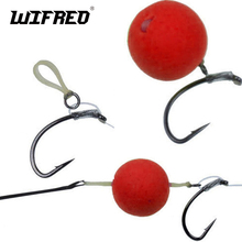 [400PCS/Pack] 2mm 5mm Carp Fishing Hair Rig Bait Bands for Pellet Bander Red Worm Terminal Tackle