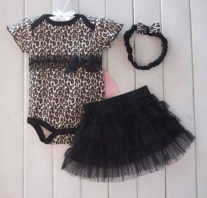 c24e82a6e € 10.52 |Nueva ropa de moda 2015 para bebé niña, set de ropa para bebé,  mameluco falda tutu + banda para el pelo, vestido de primavera y verano ...