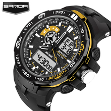 Alarm Sports-Watches S-Shock Military Sanda-Quality Analog-Display Digital Waterproof