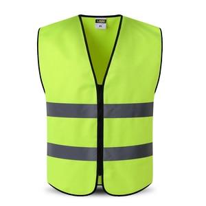 Image 5 - Светоотражающий защитный жилет с карманами, рабочая одежда, куртка Hi vis