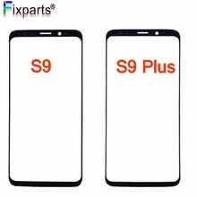 Replacement Outer Glass For samsung galaxy S9 Front Lens + Sticker tools plus