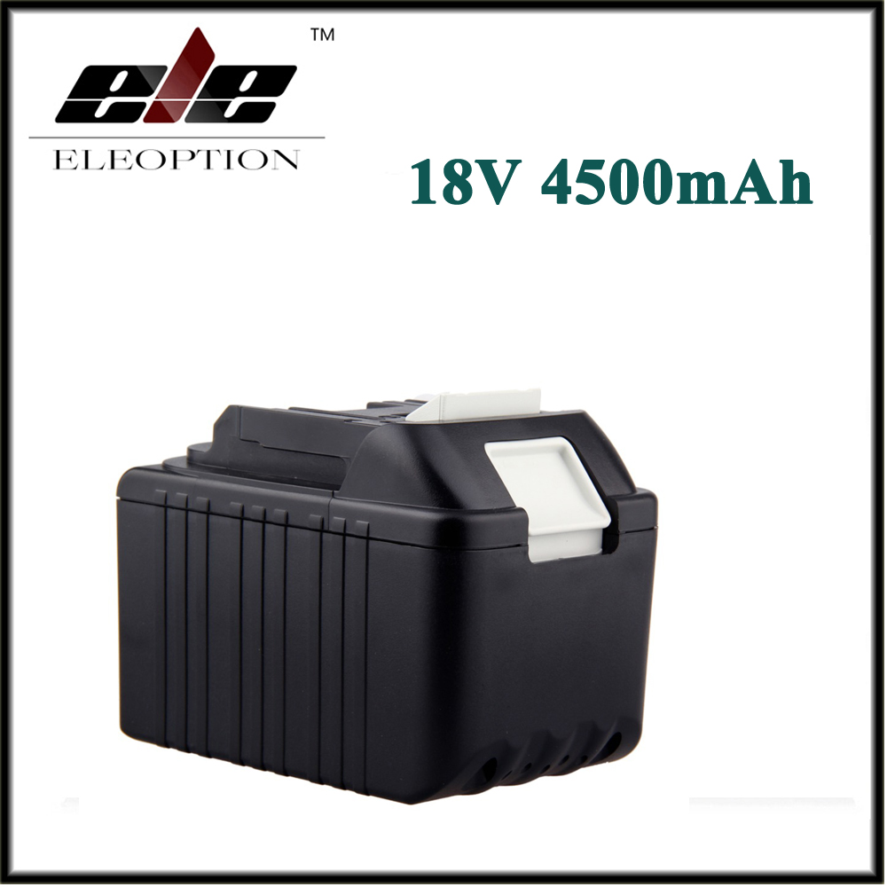 4500mAh New Rechargeable Li-Ion Replacement Power Tool Battery for Makita 18V BL1830 BL1840 LXT400 BL1815 194230-4 194205-3 high quality brand new 3000mah 18 volt li ion power tool battery for makita bl1830 bl1815 194230 4 lxt400 charger