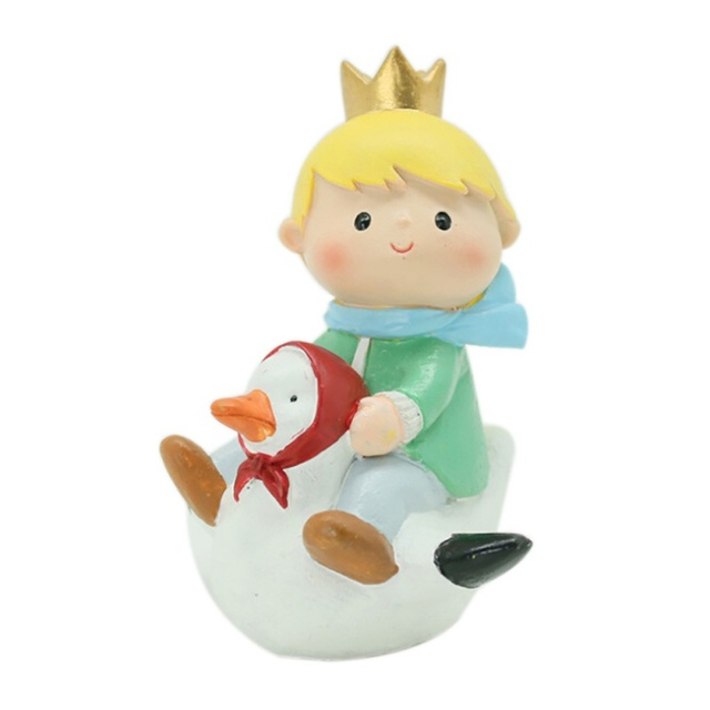 Little Prince Home Crafts Cartoon Lovers Birthday Gift Decoration Small Boy With Animal