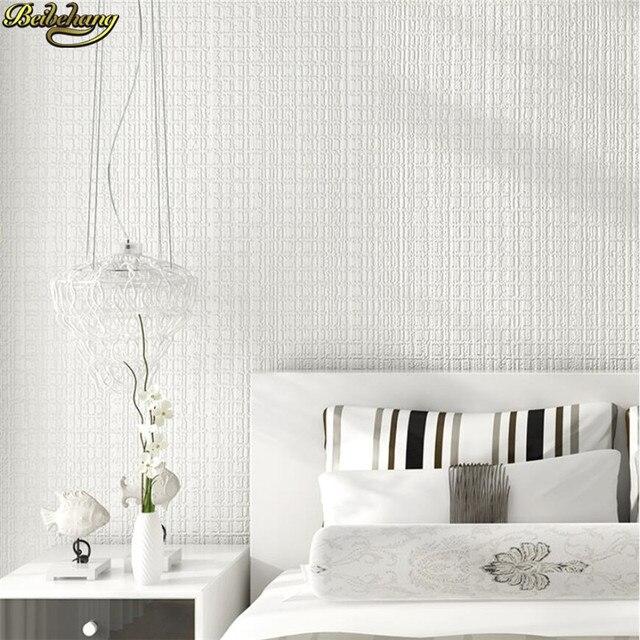 Beibehang moderne minimaliste plaine fine rayure papier peint chambre salle  à manger salon TV toile de fond papel parede