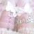 Sexy Harajuku Lolita Rosa Pastel de Tres Filas de Remaches de Cuero Real Corazón Liguero Muslo de La Pierna Liga Arnés para la Siembra