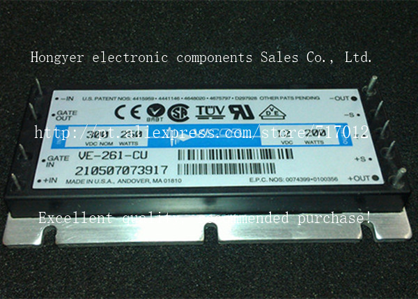 Free Shipping VE-261-CU  DC/DC: 300V-12V-200W,Can directly buy or contact the seller new in stock vi 261 cu 07