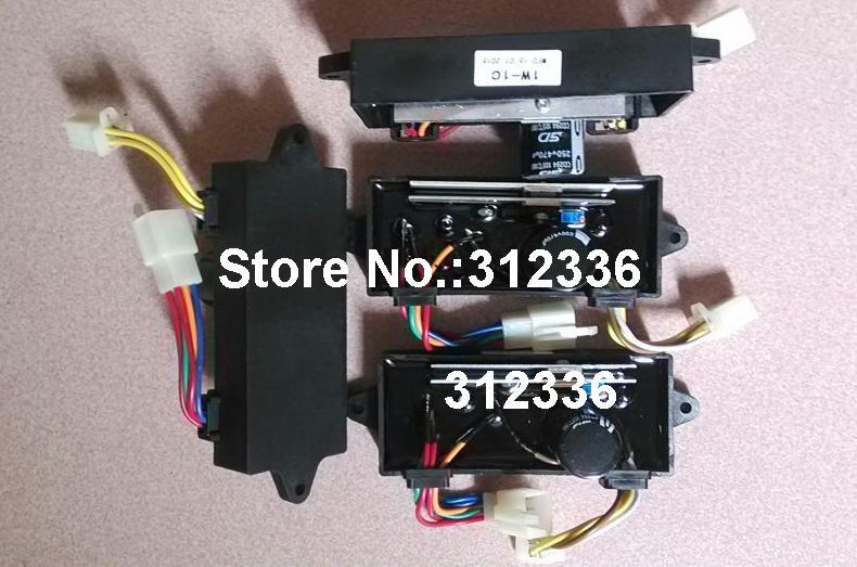 Купить с кэшбэком Free Shipping 3pcs Welding AVR Welder AVR double Generator 4kw 5kw 5kVA 5.5kva 6kVA 7kVA 1phase Single phase Suit for Kipor Kama