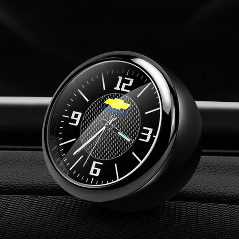 Relógio De Quartzo carro Tomada Carro Relógio Interior Fragrância Eletrônica Para Chevrolet Cruze Mai Rui Bao criar etc. acessórios Relógio
