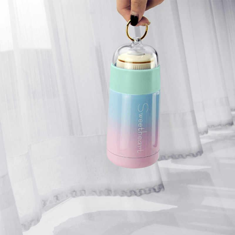 無料カスタム新ホット販売クリエイティブポータブル真空フラスコ 304 ステンレス鋼魔法瓶カップ屋外飲料水ボトルギフトマグ