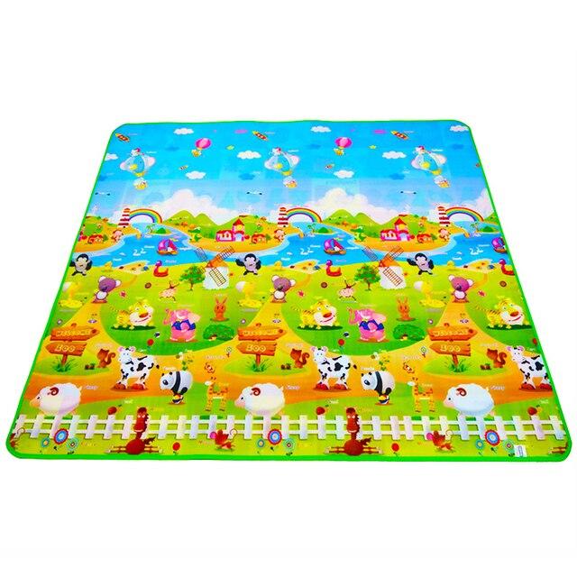 1d6477dd078 Alfombrilla de juego para niños alfombra juguetes para niños estera de goma  Playmat Eva espuma rompecabezas