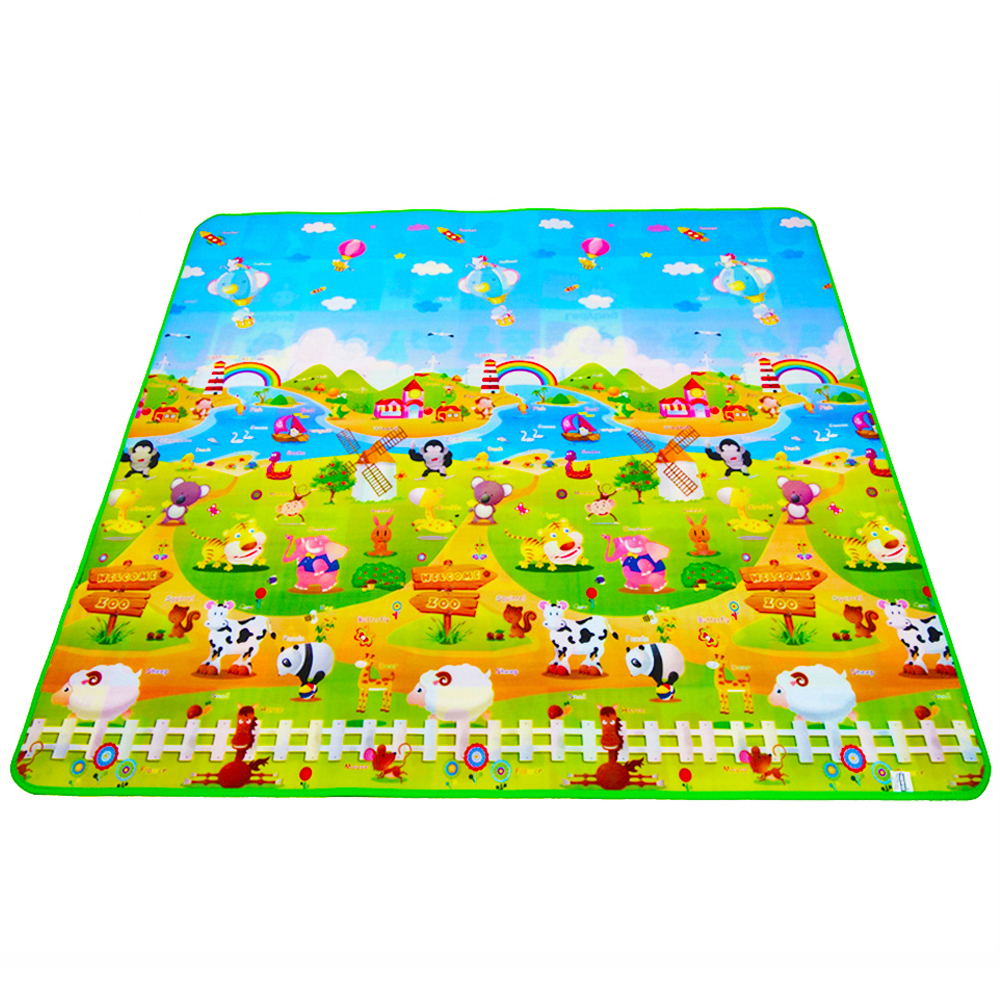 Baby leke mat for barn rug leker for barnas mat barn utvikle mat gummi playmat eva skum puslespill tepper dropshipping