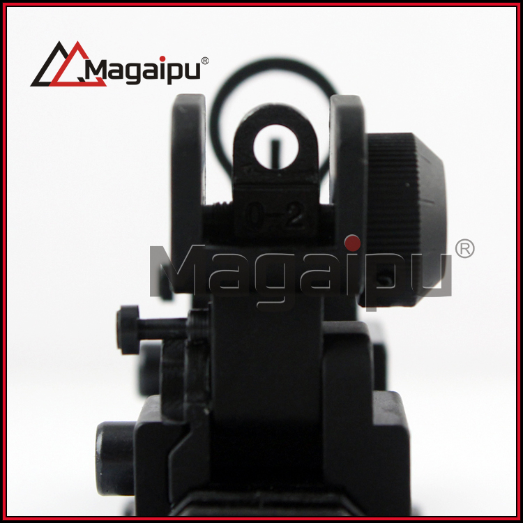 Tactical BUIS Vistas del Hierro, delantero y Trasero Sights, Levante Rápida Tran