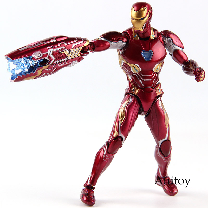 SHF Figuarts Marvel Avengers 3 Infinity War Iron Man MK50 Ironman Figure Action PVC Collectible Model ToySHF Figuarts Marvel Avengers 3 Infinity War Iron Man MK50 Ironman Figure Action PVC Collectible Model Toy