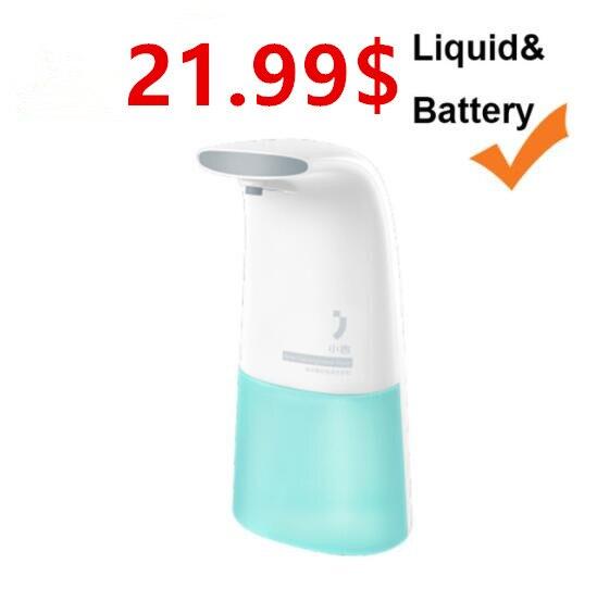 (beste Preis) Xiaomi Ökologischen Marke Minij Auto Induktion Schaum Hand Washer Waschen Seife Dispenser Für Smart Home Einfach Und Leicht Zu Handhaben