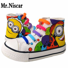 1 Bag Colored Elastic Shoe Lace Silicone No Tie Shoelaces Kids Lazy Laces Casual Sport Flat
