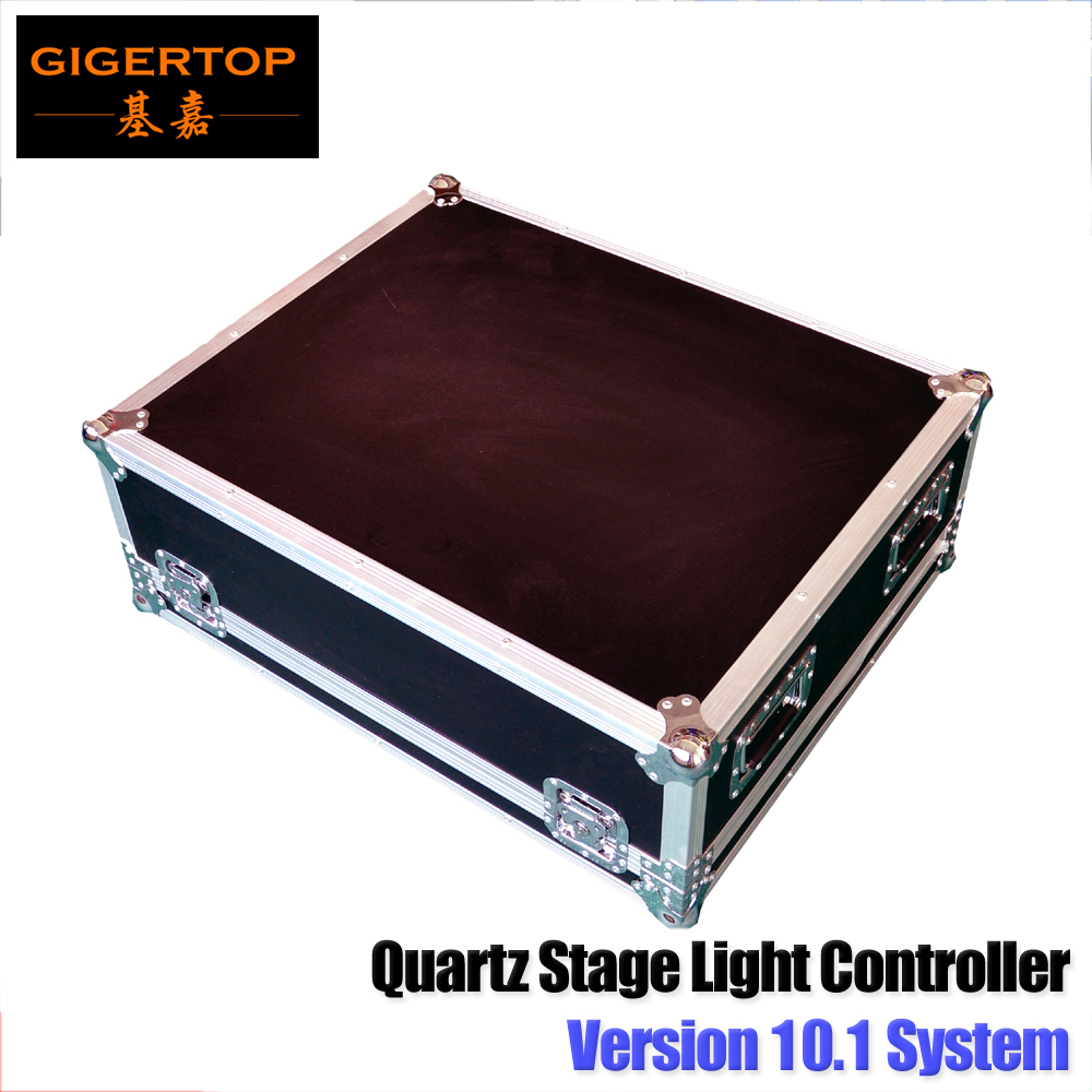 TIPTOP Stage Light 10.1 Version Titan System Quartz Stage Light Console DMX512/Artnet Touchable 14.1 inch LED Display I5 CPU fli