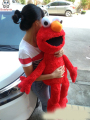 Sesame Street elmo plush toy doll children Stuffed toy birthday Christmas gift 100cm