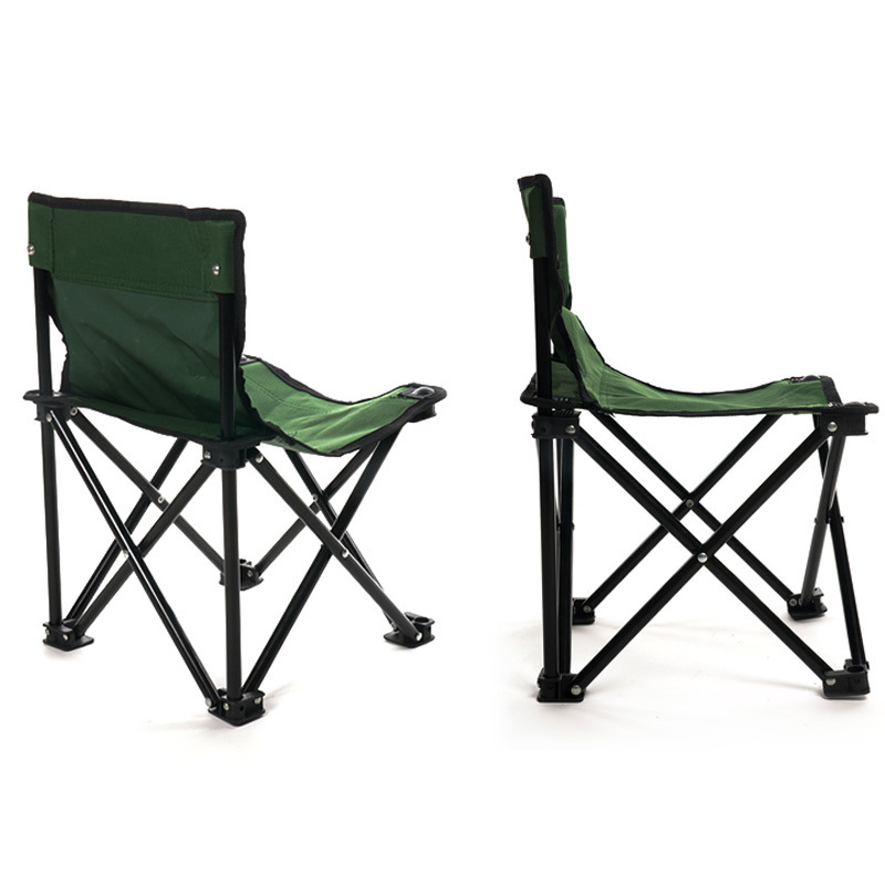 Image 2 - VILEAD Folding Camping Chair One piece design Portable Fishing Picnic Beach Outdoor Garden Seat High Load Ultralight 32*32*34 cm-in Camping Chair from Sports & Entertainment