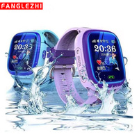 DF25 Children Phone Smart Watch With GPS And With SIM Card IP67 Waterproof SOS Call Tracker Smartwatches Android Watch Phone