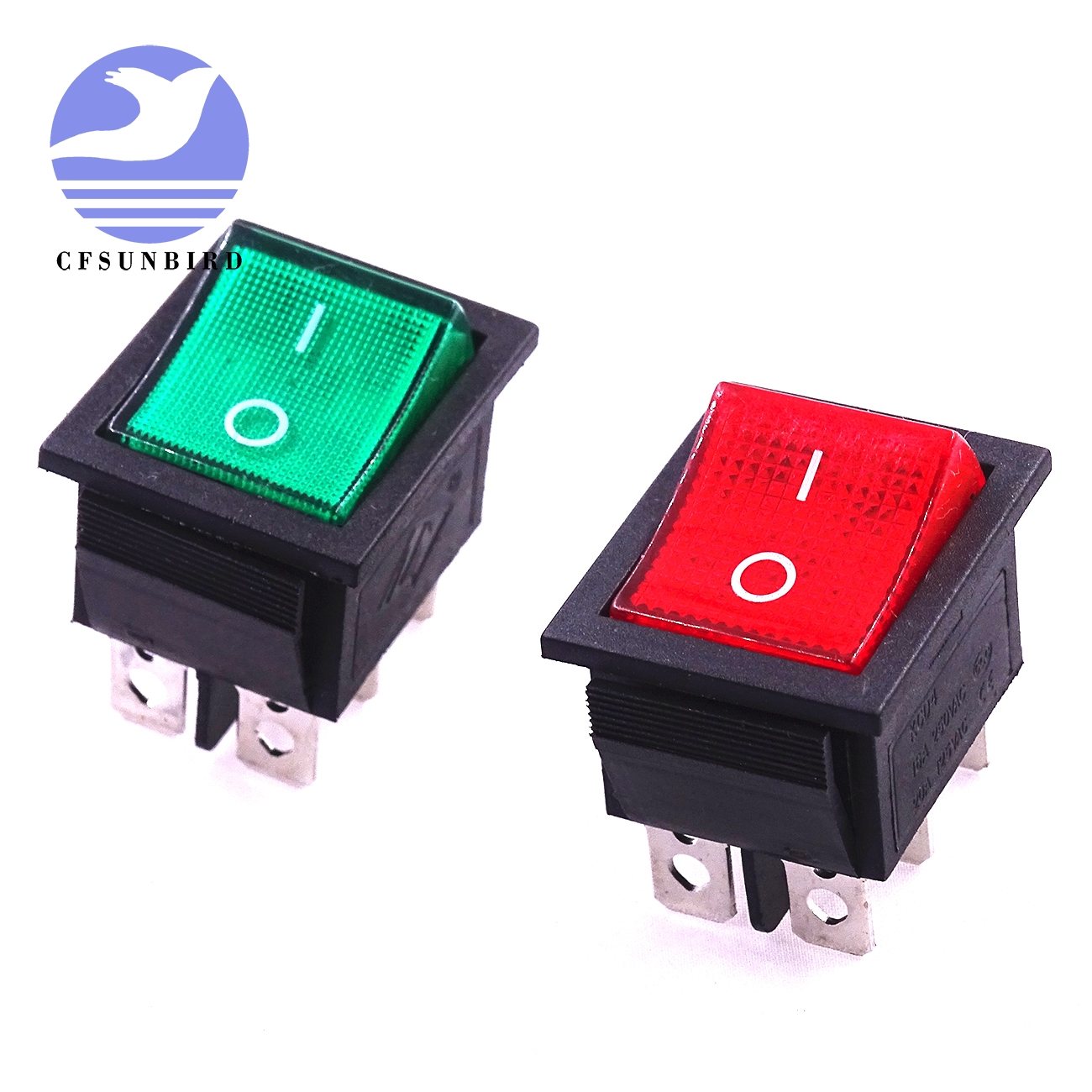 Electronics Stocks Ambitious 10pcs/lot Boat Form 6 Feet With Lamp Switch Kcd4 Ship Type 16a 250v 31x25mm With Light Green Light