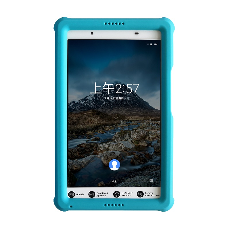 MingShore Bumper Cover For Lenovo Tab4 8.0 TB-8504F/N/X Kids Shockproof Tablet Silicone Case For Lenovo Tab 4 8.0 Inch 8504 Case