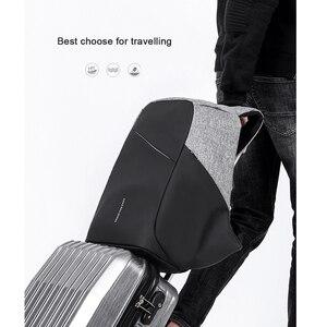 Image 5 - KAKA Anti theft USB Rucksack Männer 15,6 Laptop Rucksack Wasserdicht Business Mode Männlichen Rucksäcke Schul Mochila für Frauen