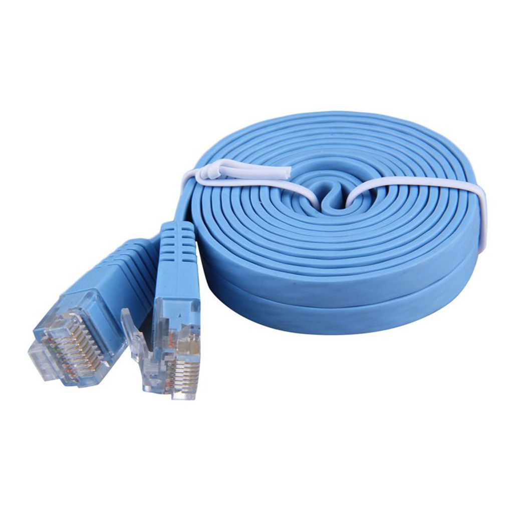 2018 Hyt Flat Ethernet Cable Cat 5 Cat5e Rj45 Network Patch 4m 5e Lan Lead Wire 05m 2m 8p8c High Speed