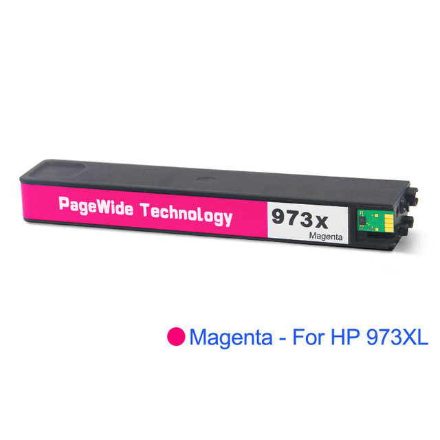 4-Pack Magenta Remanufactured Ink Cartidges Replacement for HP 972X Printer 452dn 452dw 552dw 477dn 477dw 577dw 577z MFP P57750DW MFP P55250DW Ink Cartridge,by UstyleToner