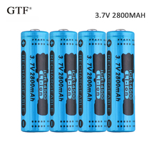 4pcs 3.7V 2800mah 14500 Li-ion Battery  rechargeable battery 14450 battery For RC Toy shaver LED light powerbank remote control все цены