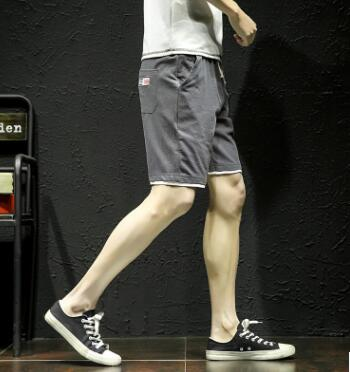 Pantalon 139 4 Cinq 100 Taille 1 De Sport Et 2 3 Grande Hommes Élastique Shorts Gz Coton Avec minute xUwY6SHw