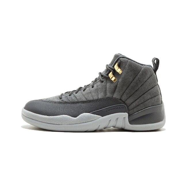 debc77564910 air us Jordan 12 XII Men Basketball Shoes wool the master University Blue  gym red GS