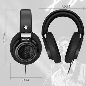 Image 2 - Original Philips headset SHP9500 Professionelle Kopfhörer 3,5mm Wired 3 meter lange kopfhörer für huawei Xiaomi MP3