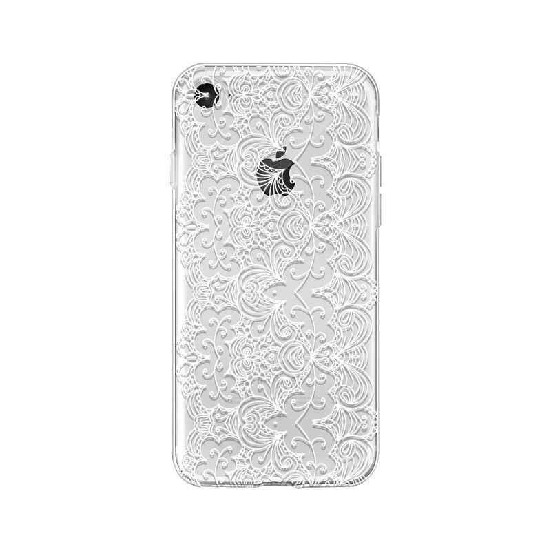 Yinuoda sexy koronki kwiat miękkiego silikonu TPU telefon pokrywa dla Apple iPhone 8 7 6 6S Plus X XS MAX 5 5S SE XR etui na telefon komórkowy