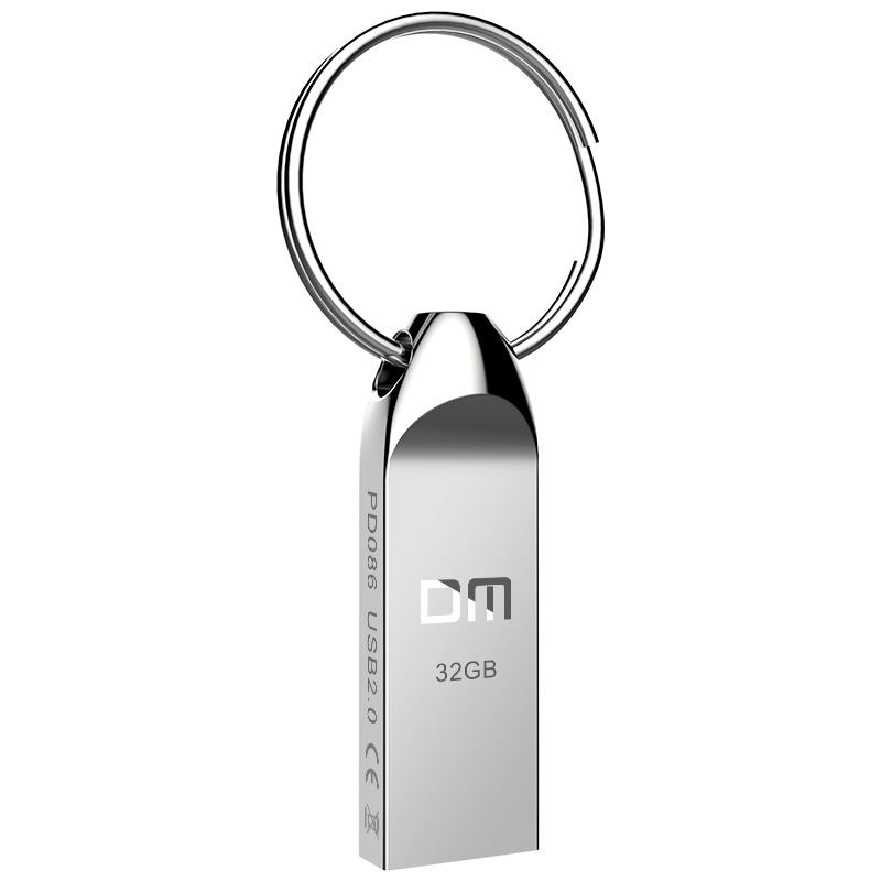 USB2.0 FLASH DRIVE PD086 8GB 16GB 32GB Metal Pen Drive Waterproof