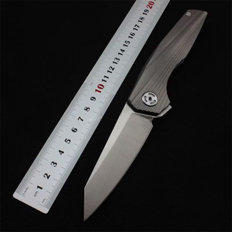 hunting knife survival knife high quality sharp D2 powder steel Folding Blade Knife titanium alloy multi-function outdoor tool high quality army survival knife high hardness wilderness knives essential self defense camping knife hunting outdoor tools edc