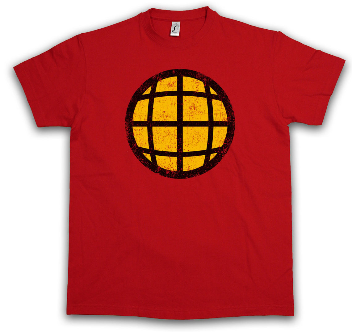 Planet Chest Logo T Shirt Captain Tv Series And