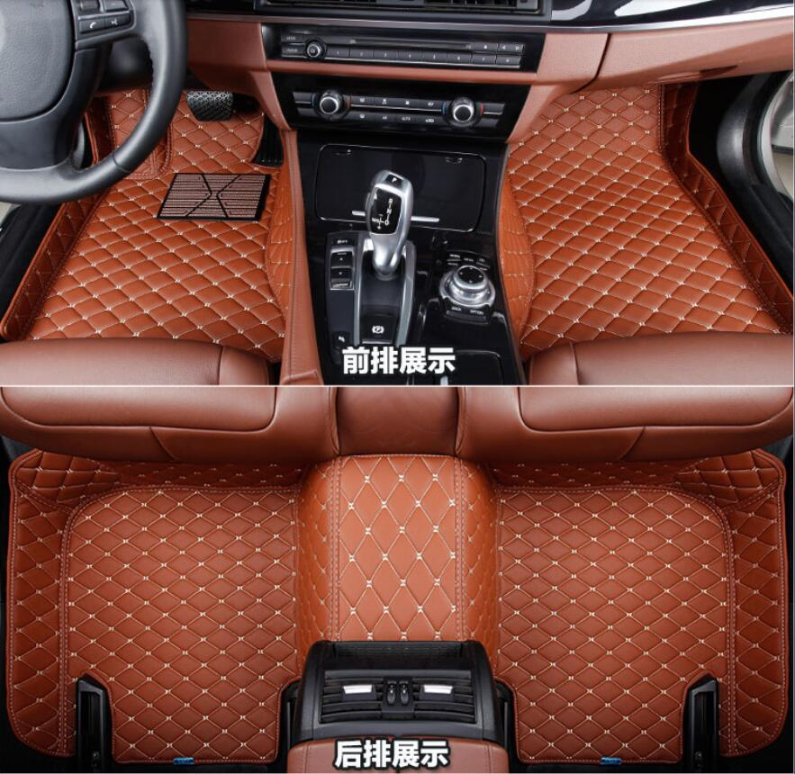 For BMW X5 E70 3 rows 7 Seats 2008 2009 2010 2011 2012 2013 Right Left Hand Drive Black Front &Rear Floor Mat Carpets Pad cover right left hand drive car interior floor mat pad 3pcs for nissan qashqai dualis 2007 2008 2009 2010 2011 2012 2013